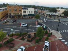 TOWN SQUARE HENDERSON TEXAS Stock Footage