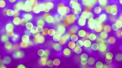 Pink Abstract Lights bokeh background loop Stock Footage