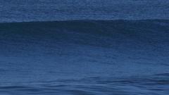 Waves break in surf line. Stock Footage