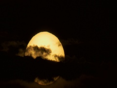 Cocoa Beach Sunrise Time Lapse Stock Footage