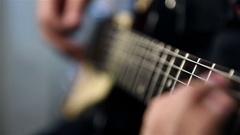 Rock Guitarist  Stock Footage