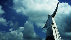 Christ the Redeemer Stock Footage