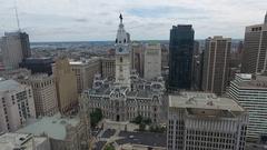 Philadelphia Downtown Stock Footage