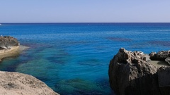Sandy Bay, Ayia Napa. Cyprus Stock Footage