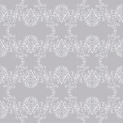 Winter Christmas seamless pattern Stock Illustration