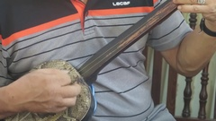Playing traditional instruments, Asia Stock Footage