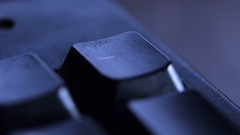 The Hyphen key on keyboard. Stock Footage