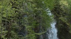 Waterfall on the Zlatibor Mountain Stock Footage