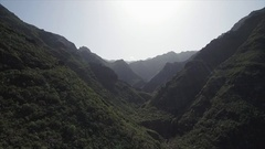 Scenery from Anaga National Park, Tenerife, Canary Islands. Stock Footage