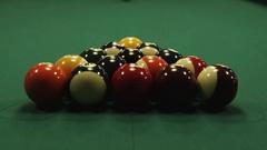 Billiard Pool Opening Stock Footage