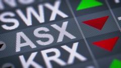 Australian Securities Exchange Ltd. Crisis. Looping. Stock Footage