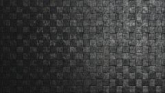Dark metallic square pattern background loop Stock Footage