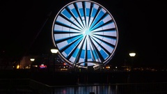 Great Wheel Time Lapse Stock Footage