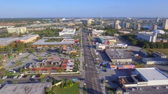 Aerial video International Drive Orlando FL Stock Footage
