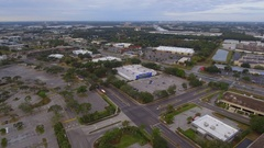 Commercial shopping district Orlando Stock Footage