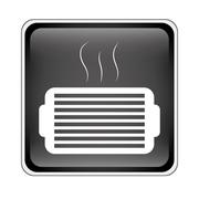 Ventilation grill icon Piirros