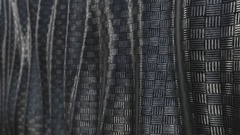 Metallic pattern abstract soft background loop Stock Footage