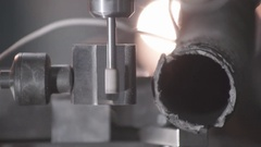 Metal Processing Machine Stock Footage