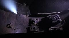 Old rusty mechanism Stock Footage