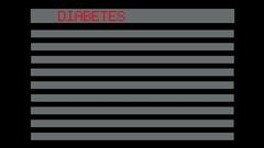Concept of diabetes risk factor Stock Footage