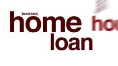 Home loan animated word cloud. Arkistovideo