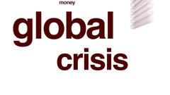 Global crisis animated word cloud. Stock Footage