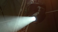 4k, up-to-date lighting equipment at concert  1 Stock Footage