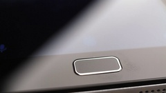 Fingerprint security screen unlocking on a smartphone Stock Footage