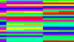 Abstact video background with bright stripes in style glitch. Stock Footage