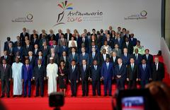 16th Francophonie Summit in Antananarivo Stock Photos
