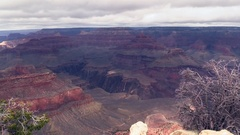 Grand Canyon National Park in Arizona, USA Stock Footage