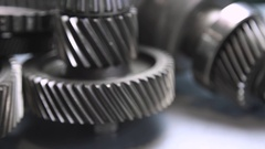 Car spare parts Stock Footage