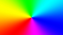Rainbow spectral gradient rotating quickly clockwise, seamless loop Stock Footage