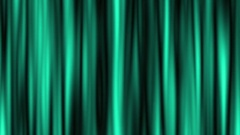 Abstract 4k video. Green waves on the black background. Stock Footage