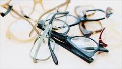 A few broken glasses Stock Footage