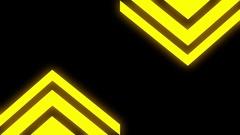 Neon Mirror Arrows Stock Footage