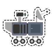 Isolated antenna design Stock Illustration