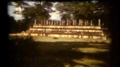 Sri Lanka 1986 ancient temple site Stock Footage