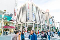 TOKYO ,JAPAN -  2016 Nov 17 :  Shinjuku is one of Tokyo's business district.. Stock Photos