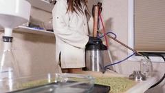 Drug Laboratory Stock Footage