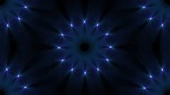 Kaleidoscopic Floral Mandala -  Abstract Animation Stock Footage