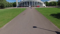 Song Festival Grounds Tallinn Stock Footage