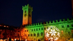 Christmas in Trento Stock Footage