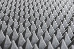 Detail of Acoustic Foam in Recording Studio Stock Photos