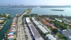 Aerial North Miami Florida Stock Footage
