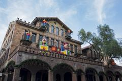Exterior of the Mission Inn Stock Photos