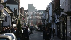 Christmas in England: Eton Stock Footage