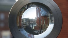 Windsor through a fish eye lense Stock Footage
