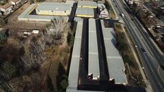 A big storage space COLORADO Stock Footage