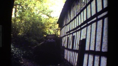 1983: water mill at village DENMARK Stock Footage
